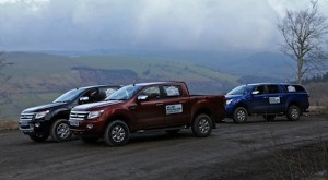 Ford Ranger acts as support vehicle for charity 4x4 event
