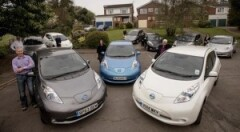 Nissan LEAF rocks down to 'Electric Avenue'