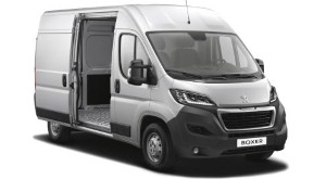 Peugeot Boxer unveiled for the commercial market
