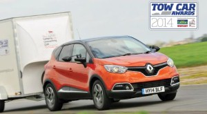 Renault's Captur named Best Ultralight Tow Car at the 2014 Tow Car Awards