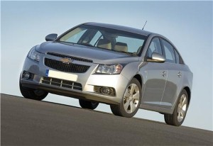 A new kit from Chevrolet gives the Cruze sporting appeal.