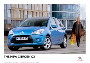 Citroen offers '60' registration plate deals.