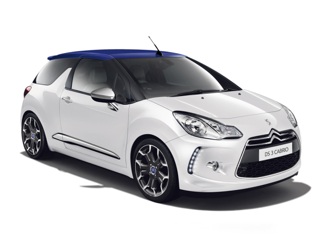 new citroen ds 3 1 6 bluehdi chic 2dr diesel cabriolet for. Black Bedroom Furniture Sets. Home Design Ideas