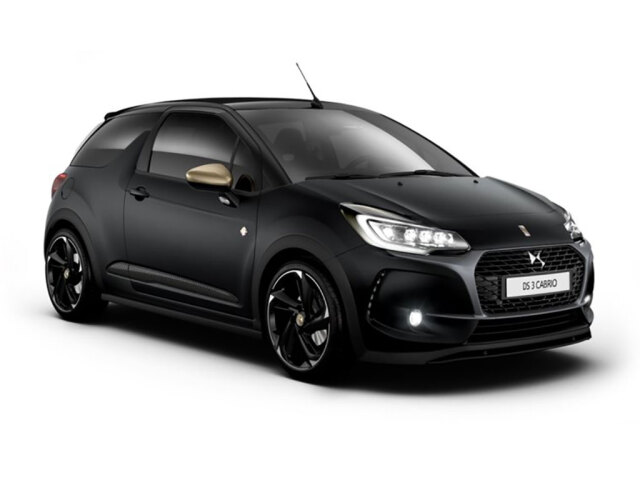 new ds 3 1 6 thp 210 performance black 2dr petrol cabriolet for sale bristol street. Black Bedroom Furniture Sets. Home Design Ideas