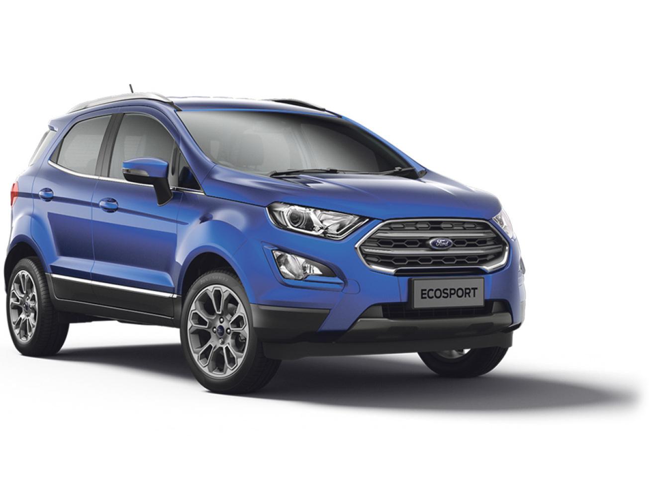 new ford ecosport 1 0 ecoboost 125 titanium 5dr petrol. Black Bedroom Furniture Sets. Home Design Ideas