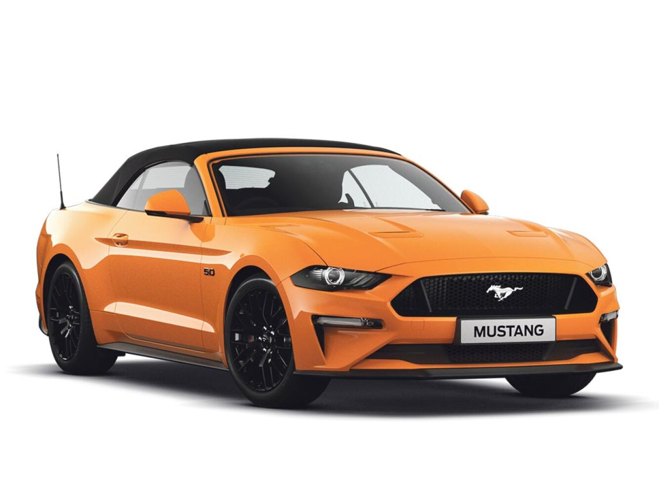 Ford mustang 5 0 v8 gt custom pack 2 2dr petrol convertible