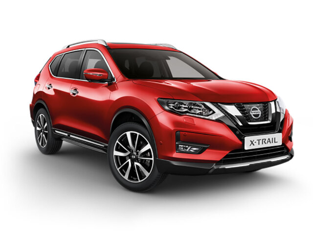 new nissan x trail 1 6 dci n connecta 5dr diesel station. Black Bedroom Furniture Sets. Home Design Ideas