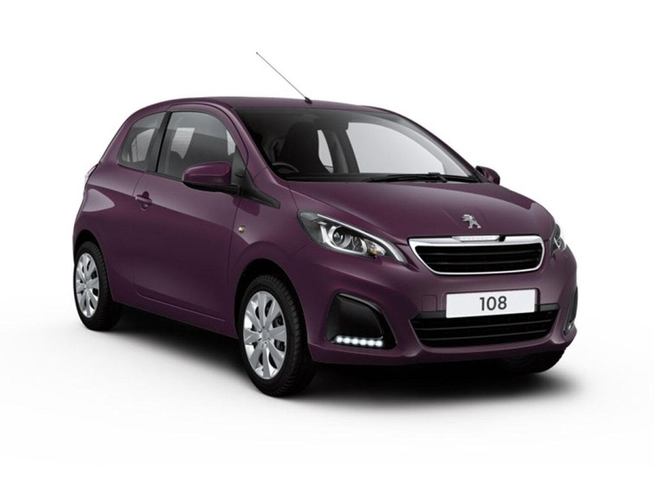 New Peugeot 108 1.0 72 Active 3dr Petrol Hatchback For