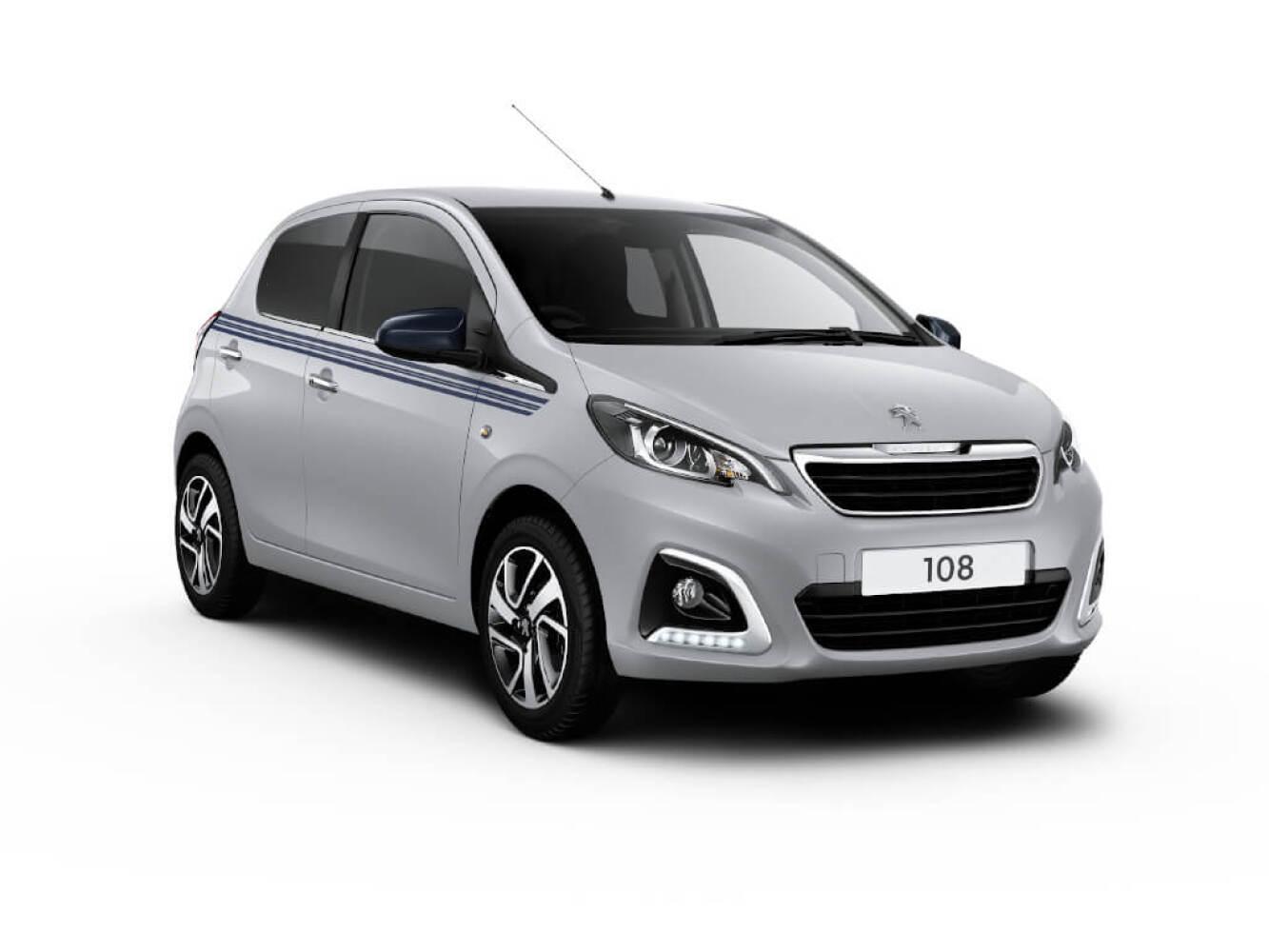New Peugeot 108 1.0 72 Collection 5dr Petrol Hatchback For