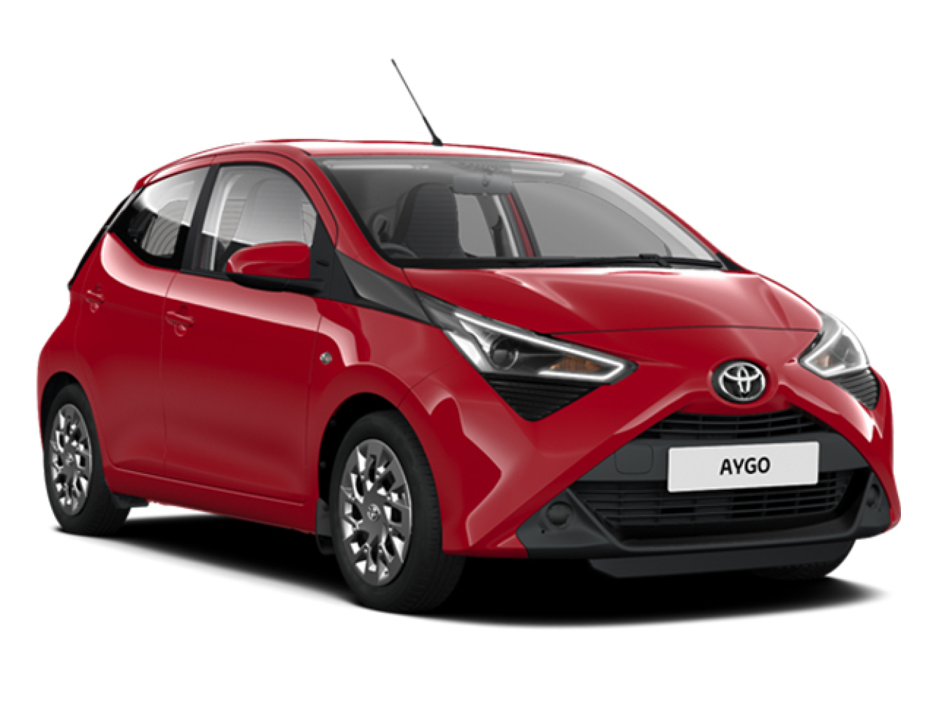 new toyota aygo 1 0 vvt i x play 5dr x nav petrol. Black Bedroom Furniture Sets. Home Design Ideas