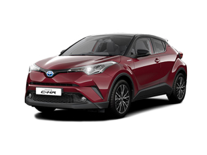 Toyota C-HR 1.8 Hybrid Red Edition 5Dr Cvt [leather] Hybrid Hatchback