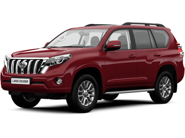 Toyota Land Cruiser 2.8 D-4D Invincible 5Dr Auto 7 Seats Diesel Station Wagon
