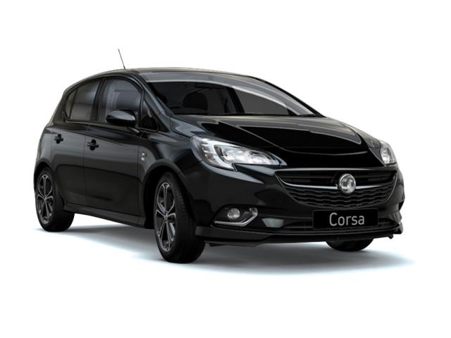 new vauxhall corsa 1 4t 150 black edition 5dr petrol. Black Bedroom Furniture Sets. Home Design Ideas