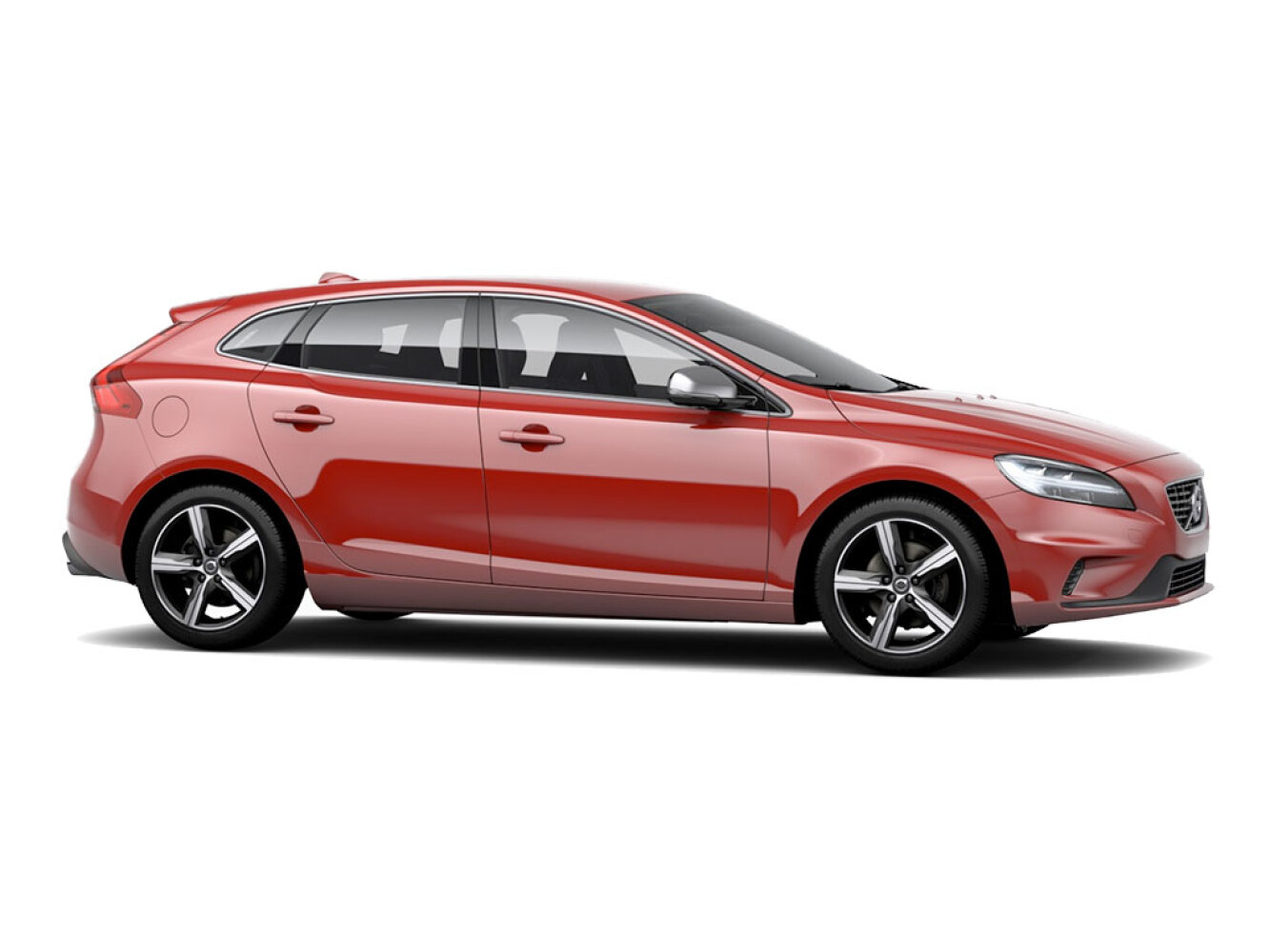 new volvo v40 t2 122 r design 5dr petrol hatchback for. Black Bedroom Furniture Sets. Home Design Ideas