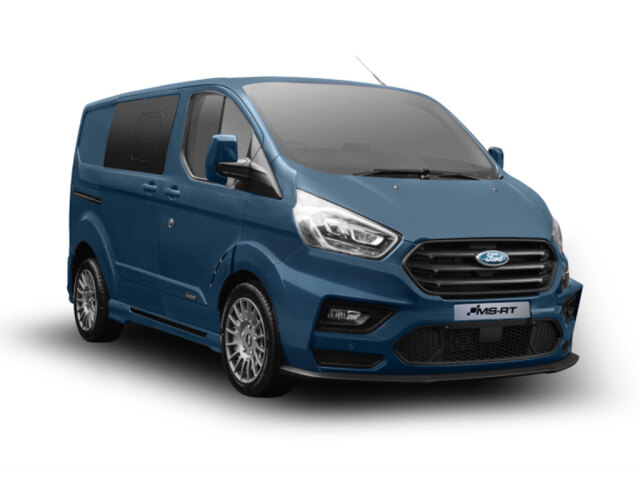 Ford Transit Custom 320 L2 Diesel Fwd 2.0 EcoBlue 185ps Low Roof D/Cab MS-RT Van