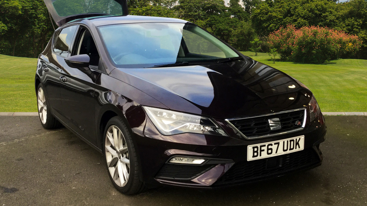 used seat leon 2 0 tdi 184 fr technology 5dr dsg diesel hatchback for sale bristol street motors. Black Bedroom Furniture Sets. Home Design Ideas