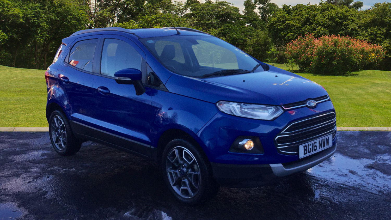 used ford ecosport 1 0 ecoboost titanium 5dr 17in petrol hatchback for sale bristol street. Black Bedroom Furniture Sets. Home Design Ideas