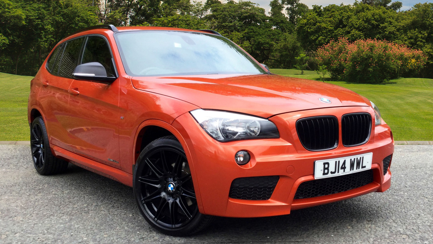 used bmw x1 sdrive 20d m sport 5dr diesel estate for sale bristol street motors. Black Bedroom Furniture Sets. Home Design Ideas