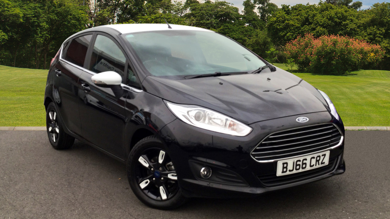 used ford fiesta 1 0 ecoboost zetec black 5dr petrol hatchback for sale bristol street motors. Black Bedroom Furniture Sets. Home Design Ideas
