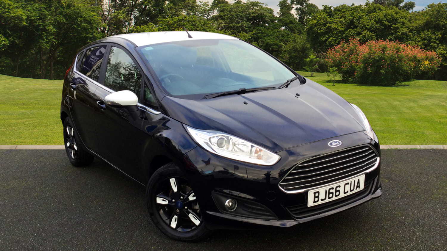 used ford fiesta 1 0 ecoboost zetec black 5dr petrol. Black Bedroom Furniture Sets. Home Design Ideas