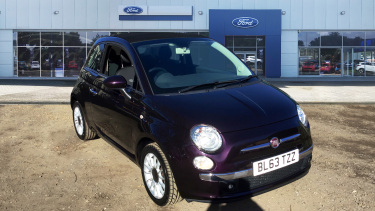 Fiat 500 1.2 Lounge 2dr [Start Stop] Petrol Convertible