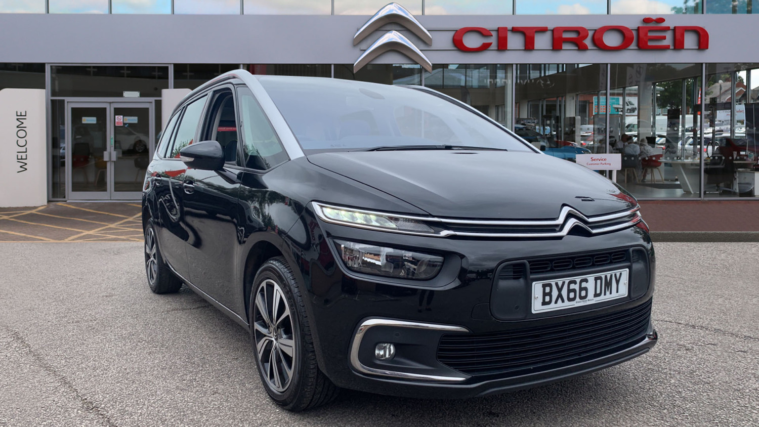 used citroen grand c4 picasso 1 6 bluehdi feel 5dr diesel estate for sale bristol street motors. Black Bedroom Furniture Sets. Home Design Ideas