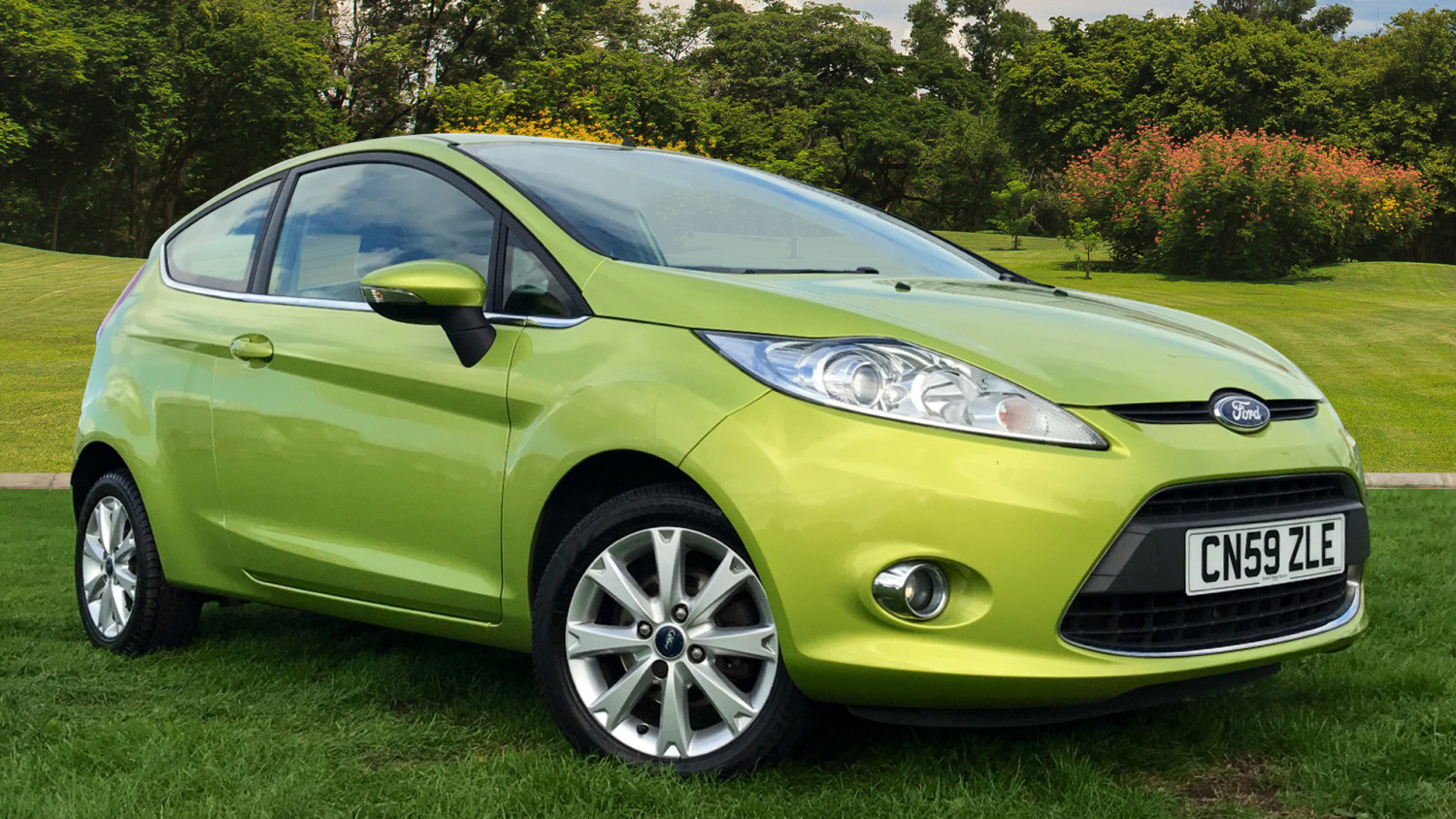 Used ford fiesta 1 4 zetec 3dr auto petrol hatchback for for Used ford motors sale