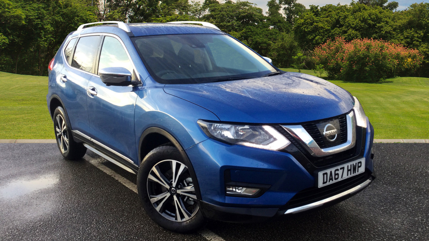 used nissan x trail 2 0 dci n connecta 5dr xtronic diesel. Black Bedroom Furniture Sets. Home Design Ideas
