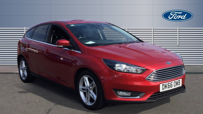 used ford focus 1 0 ecoboost 125 titanium 5dr petrol. Black Bedroom Furniture Sets. Home Design Ideas