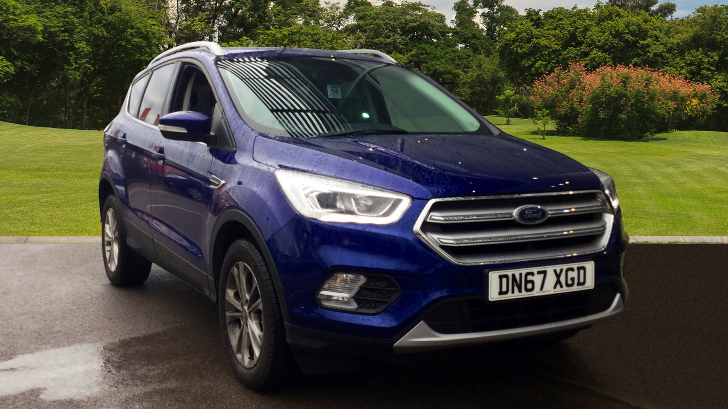 buy online ford kuga 2 0 tdci titanium 5dr 2wd diesel estate for sale bristol street motors. Black Bedroom Furniture Sets. Home Design Ideas