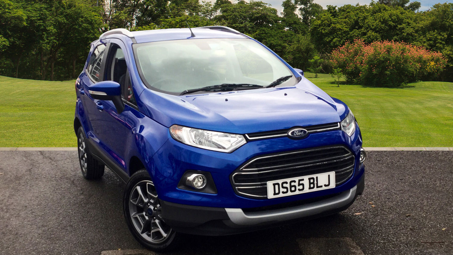 used ford ecosport 1 0 ecoboost titanium 5dr petrol hatchback for sale bristol street motors. Black Bedroom Furniture Sets. Home Design Ideas