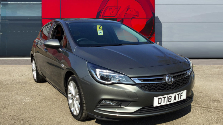 Used Vauxhall Astra 1.4i 16V Tech Line Nav 5dr Petrol ...