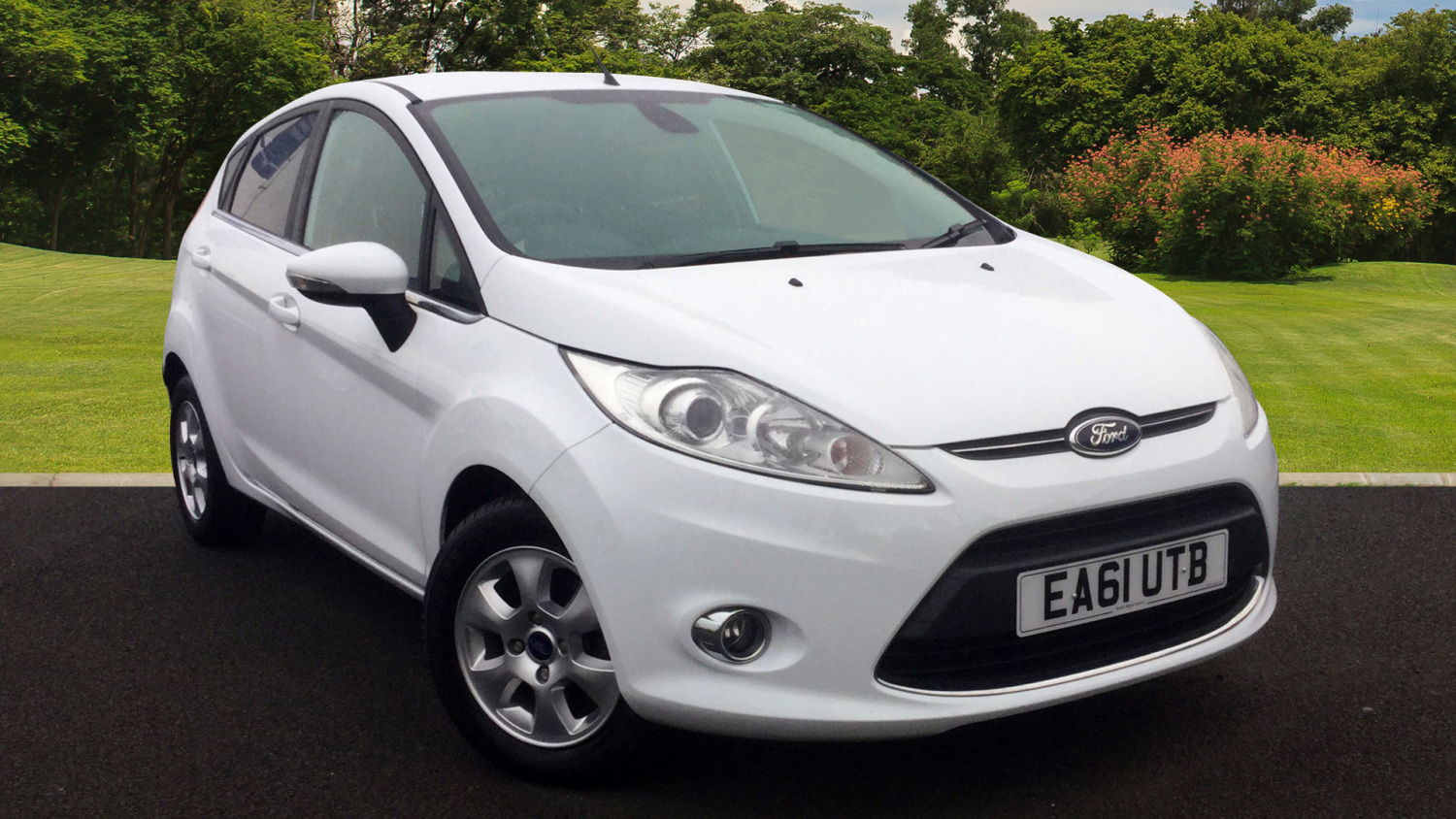 used ford fiesta 1 6 tdci 95 titanium econetic 5dr diesel hatchback for sale bristol street. Black Bedroom Furniture Sets. Home Design Ideas