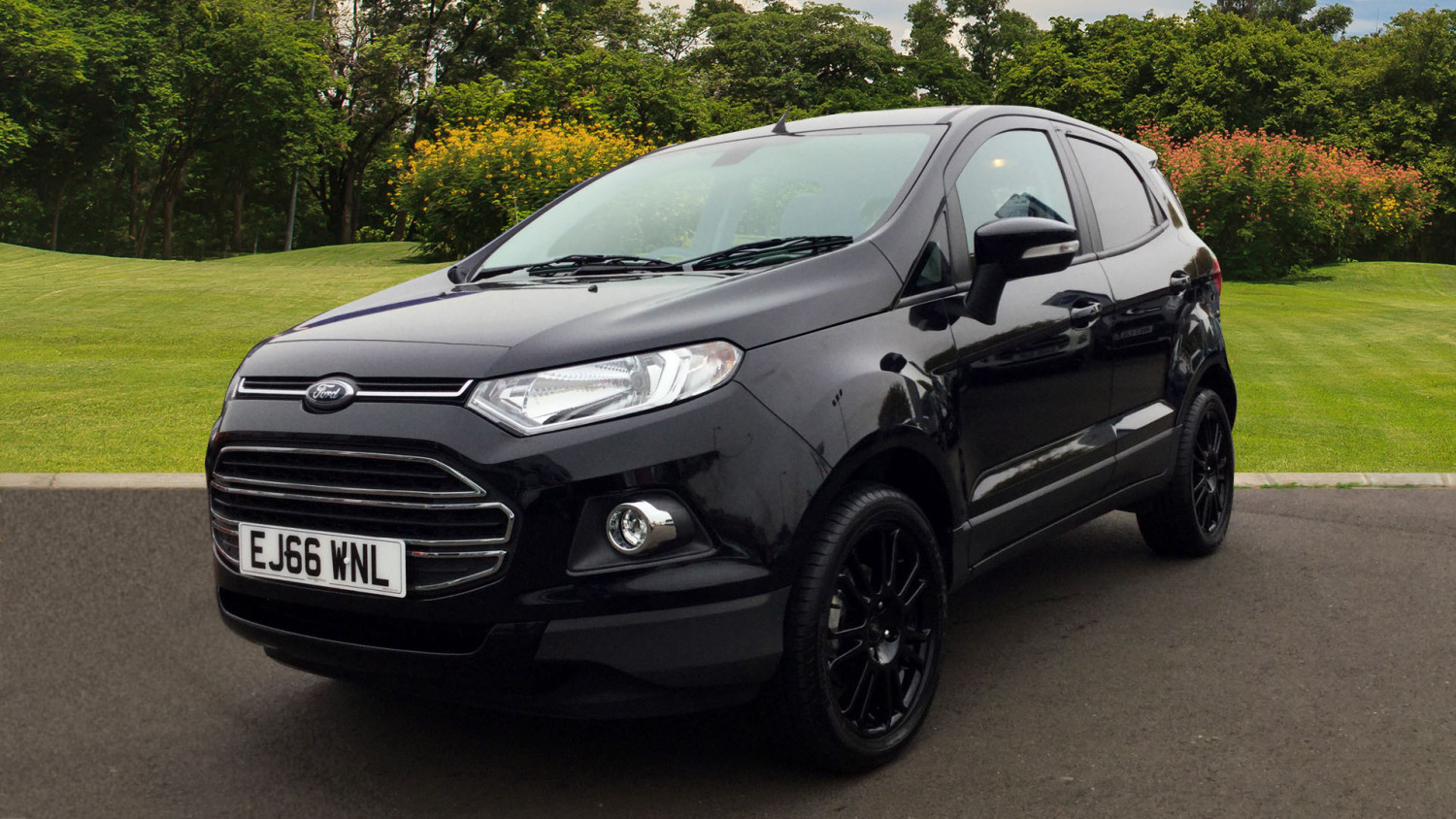 used ford ecosport 1 0 ecoboost 140 titanium s 5dr petrol hatchback for sale bristol street motors. Black Bedroom Furniture Sets. Home Design Ideas
