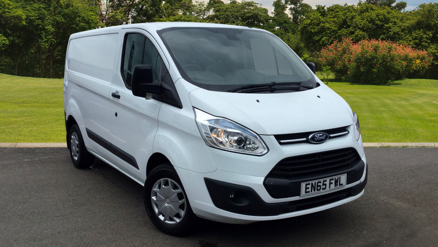 f3e646f115 Used Ford Transit Custom 290 Swb Diesel Fwd 2.2 TDCi 100ps Low Roof Trend  Van for Sale