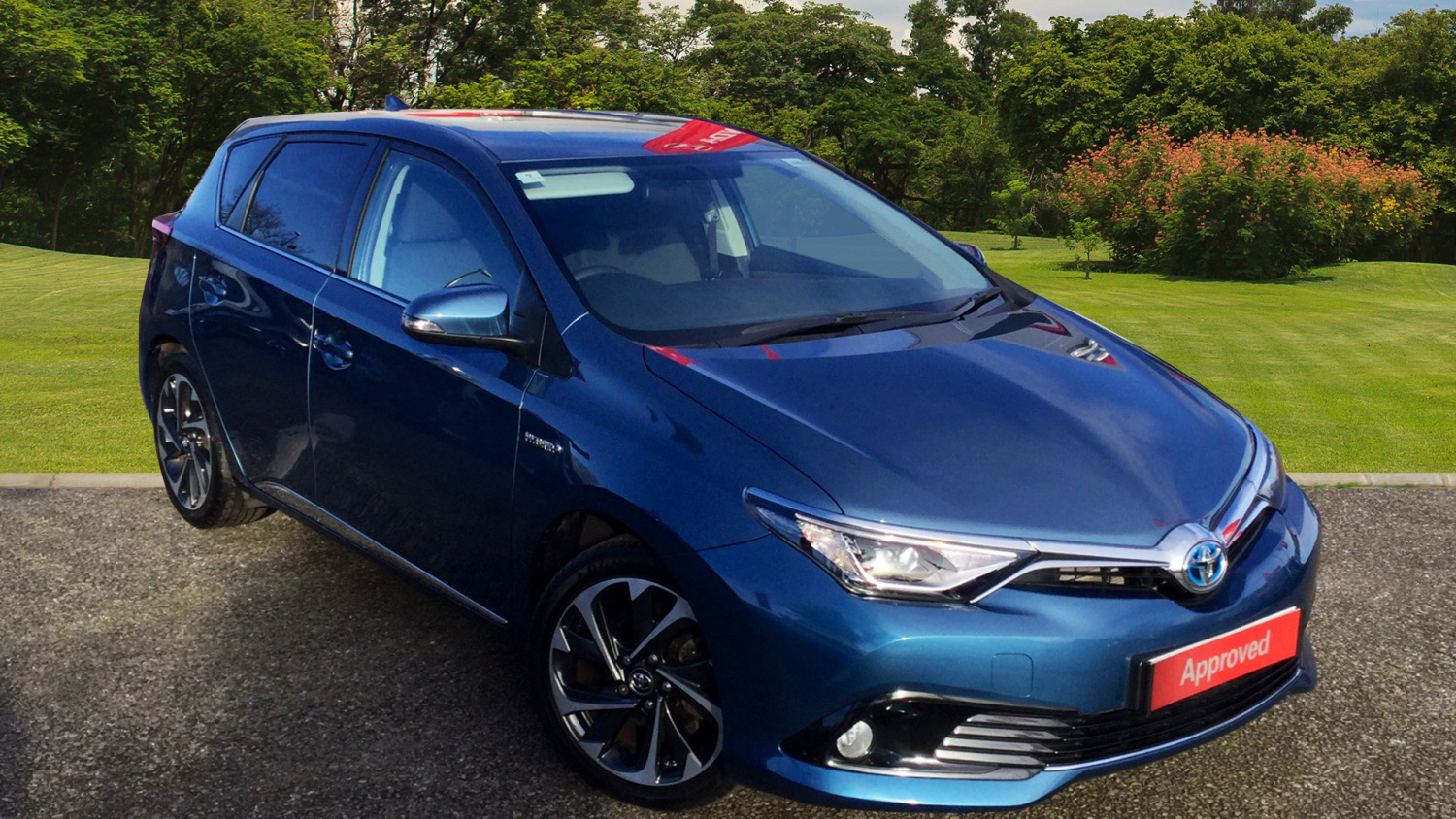 used toyota auris 1 8 hybrid design 5dr cvt hybrid hatchback for sale bristol street motors. Black Bedroom Furniture Sets. Home Design Ideas