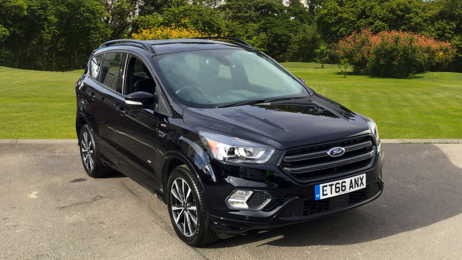 used ford kuga 1 5 ecoboost 182 st line x 5dr auto petrol estate for sale bristol street motors. Black Bedroom Furniture Sets. Home Design Ideas