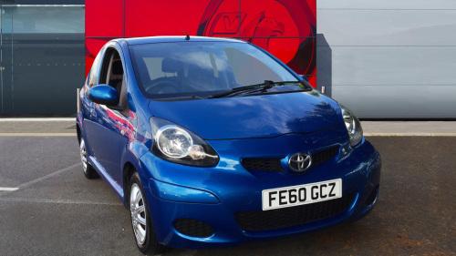 Toyota AYGO 1.0 Vvt I Blue 3Dr Petrol Hatchback