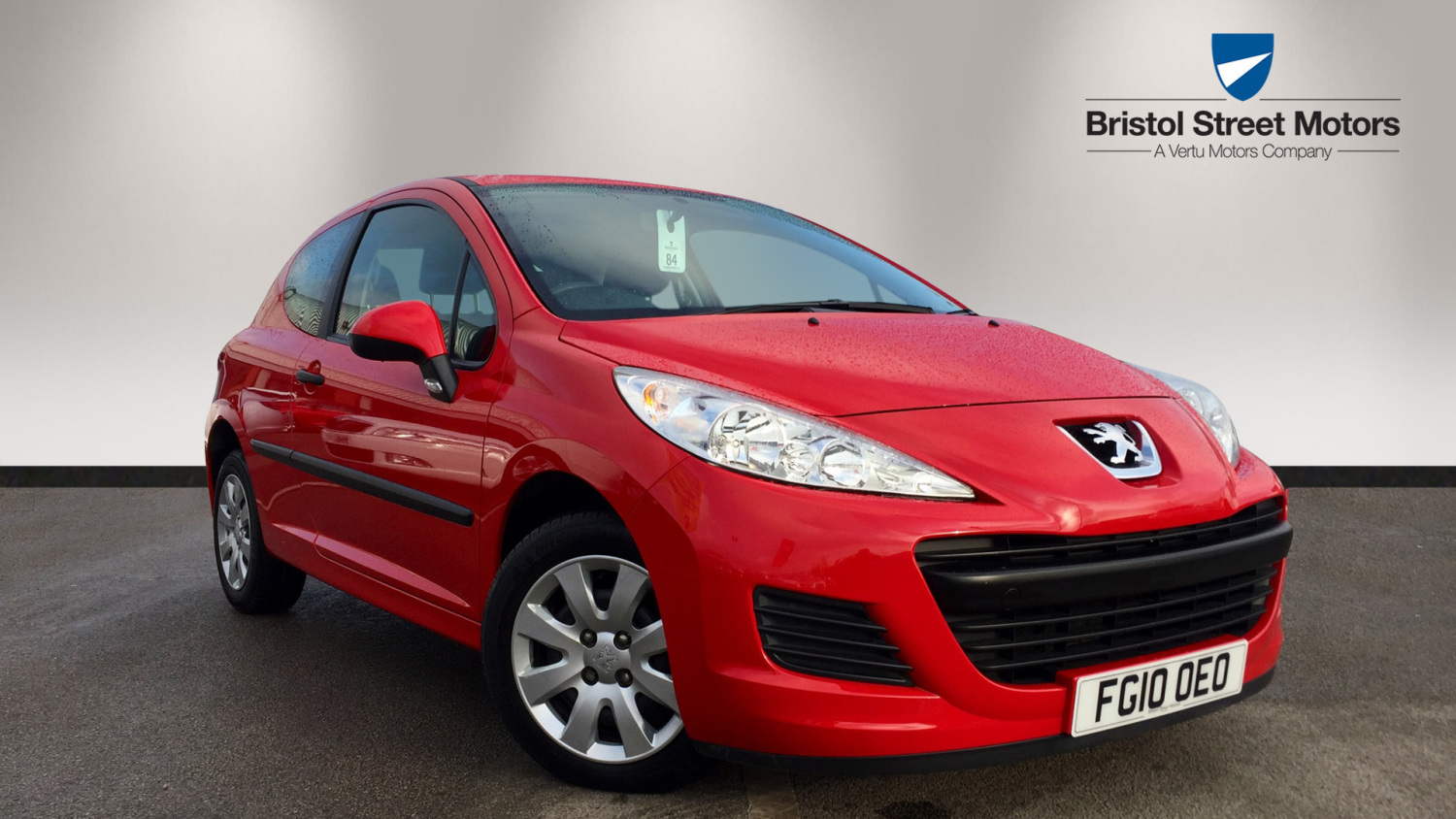used peugeot 207 1 4 urban 3dr petrol hatchback for sale bristol street motors. Black Bedroom Furniture Sets. Home Design Ideas