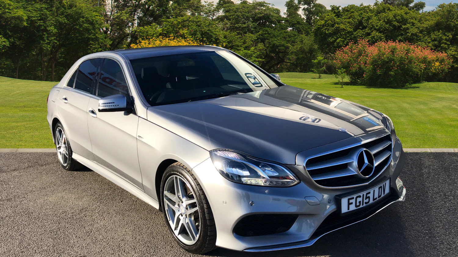Used mercedes benz e class e300 bluetec hybrid amg line for Hybrid mercedes benz