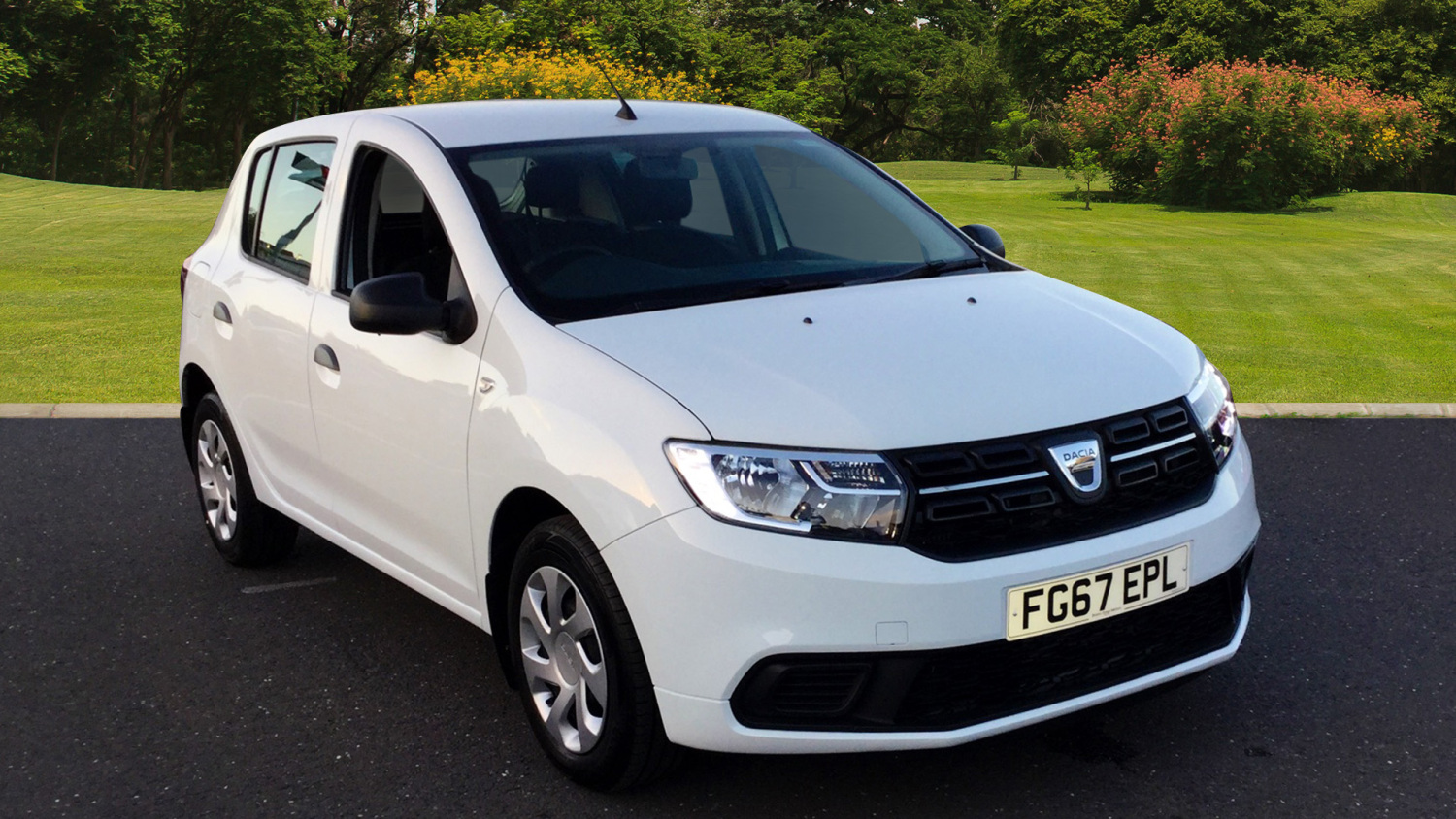 used dacia sandero 1 5 dci ambiance 5dr diesel hatchback. Black Bedroom Furniture Sets. Home Design Ideas