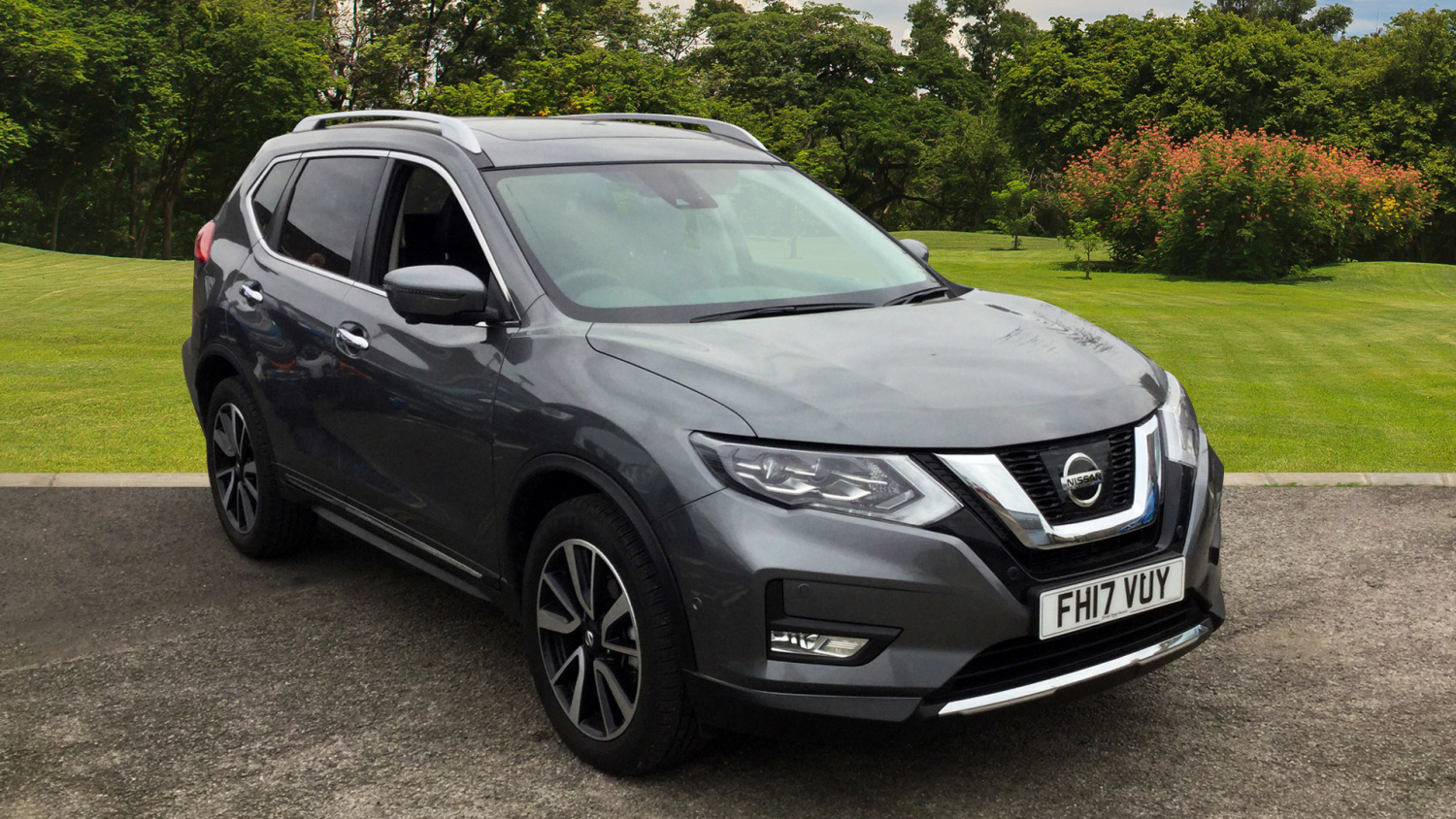 used nissan x trail 1 6 dci tekna 5dr xtronic diesel. Black Bedroom Furniture Sets. Home Design Ideas
