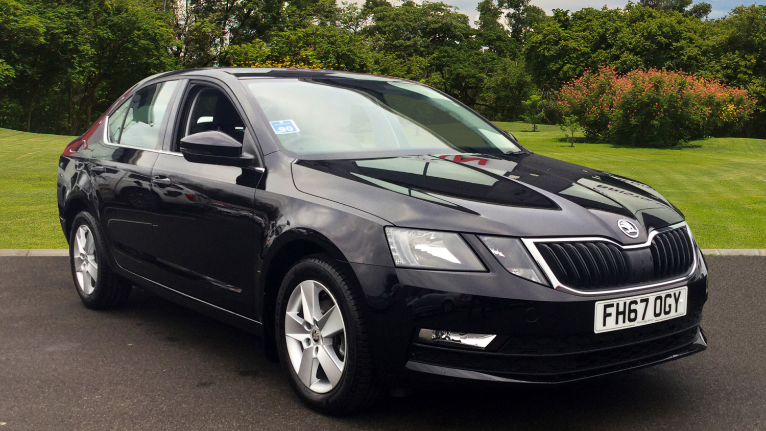 used skoda octavia 1 6 tdi cr se 5dr dsg diesel estate for. Black Bedroom Furniture Sets. Home Design Ideas