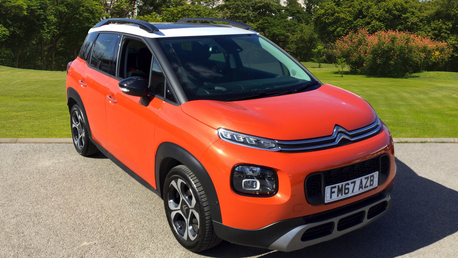 used citroen c3 aircross 1 6 bluehdi flair 5dr diesel. Black Bedroom Furniture Sets. Home Design Ideas