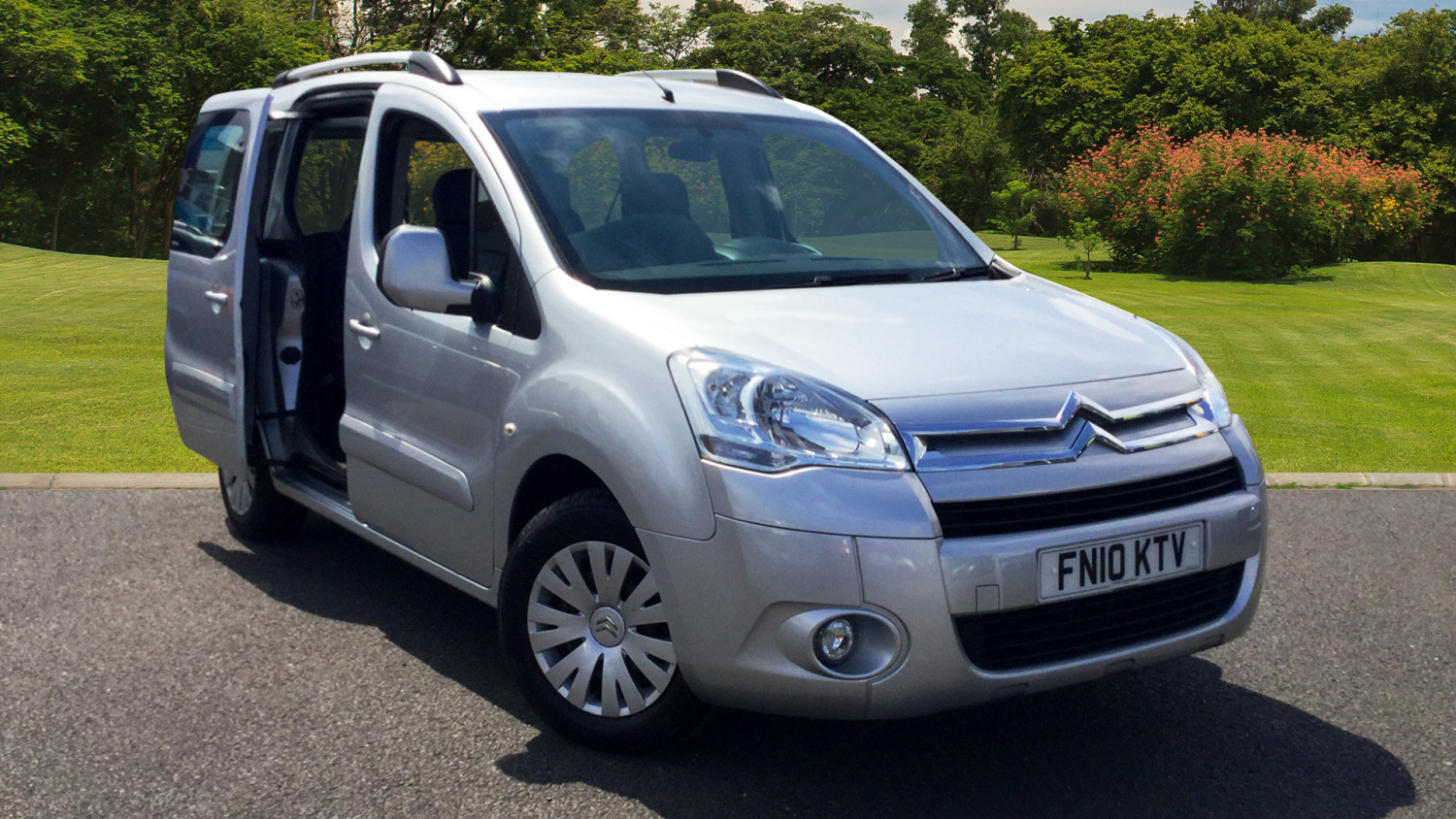 used citroen berlingo multispace 1 6 hdi 90 vtr 5dr diesel. Black Bedroom Furniture Sets. Home Design Ideas