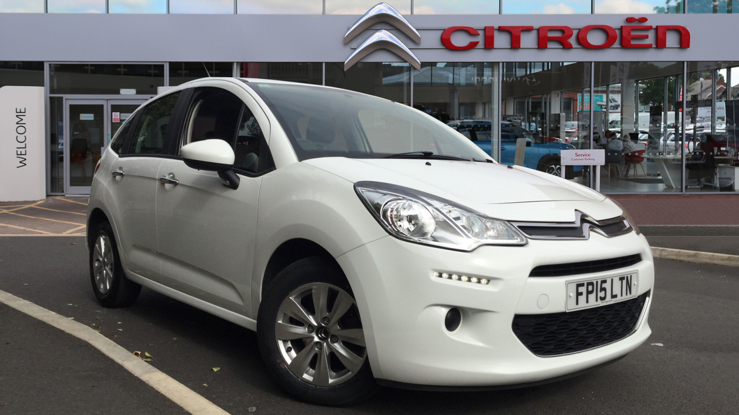 used citroen c3 1 0 puretech vtr 5dr petrol hatchback for. Black Bedroom Furniture Sets. Home Design Ideas