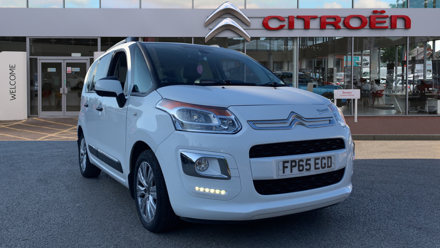 used citroen c3 picasso 1 6 bluehdi exclusive 5dr diesel estate for sale bristol street motors. Black Bedroom Furniture Sets. Home Design Ideas