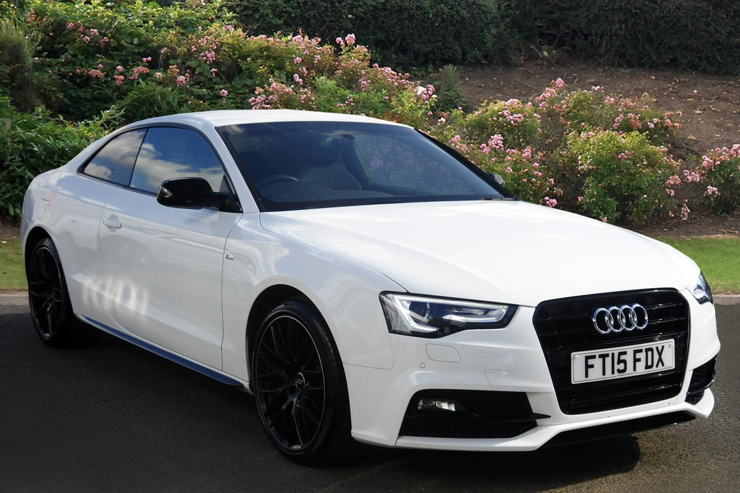 Used audi a5 1 8t fsi 177 black edition plus 2dr petrol coupe for sale bristol street motors - White audi a5 coupe for sale ...