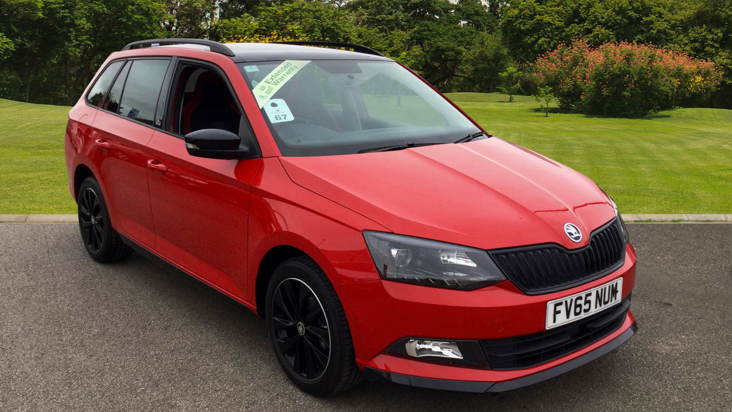 used skoda fabia 1 2 tsi 90 monte carlo 5dr petrol estate. Black Bedroom Furniture Sets. Home Design Ideas