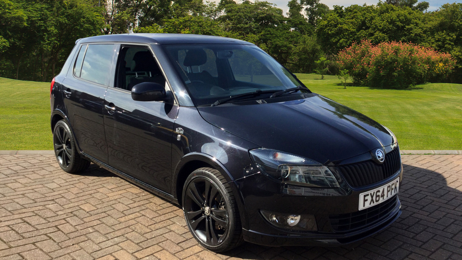 used skoda fabia 1 2 tsi 105 black edition 5dr petrol. Black Bedroom Furniture Sets. Home Design Ideas